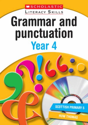 9781407100470: Grammar and Punctuation Year 4 (New Scholastic Literacy Skills)