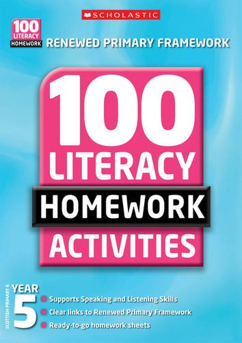 9781407101194: 100 Literacy Homework Activities: Year 5