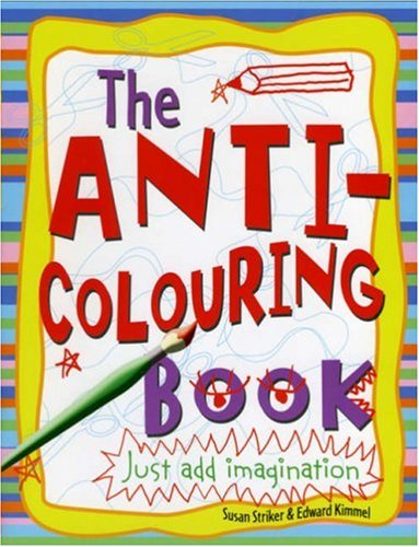 9781407102719: Anti-colouring Book
