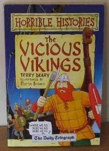 9781407102757: HORRIBLE HISTORIES: THE VICIOUS VIKINGS