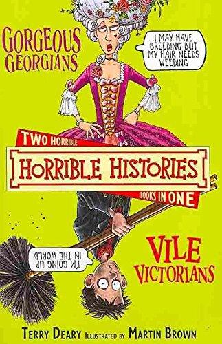 9781407103518: The Gorgeous Georgians (Horrible Histories)