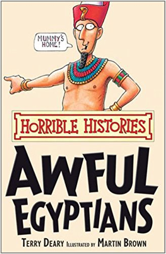 9781407104201: Awful Egyptians (Horrible Histories)