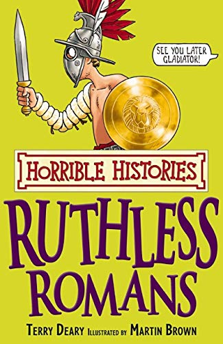 9781407104249: Ruthless Romans (Horrible Histories)