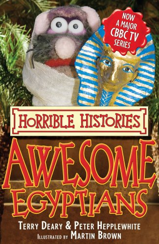 9781407104867: Awesome Egyptians (Horrible Histories TV Tie-in)