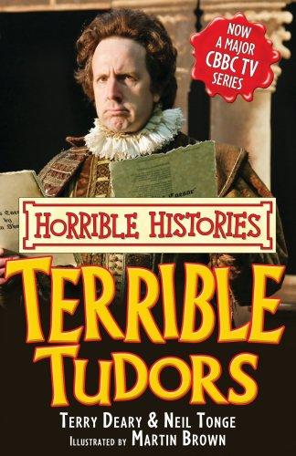 9781407104898: Terrible Tudors (Horrible Histories TV Tie-in)