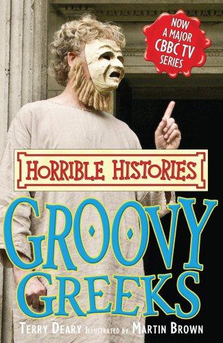 9781407104904: Groovy Greeks (Horrible Histories TV Tie-in)
