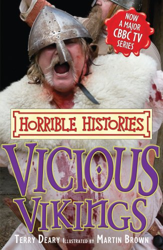 9781407104911: Vicious Vikings (Horrible Histories TV Tie-in)