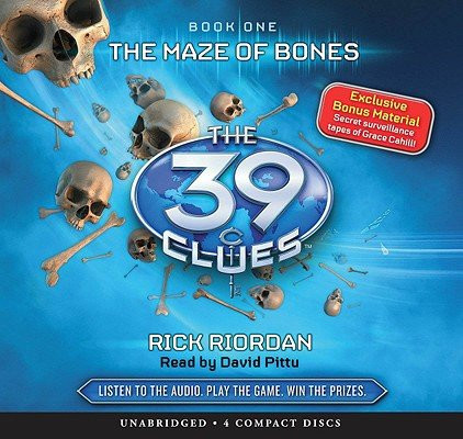 9781407107233: 39 Clues Maze of Bones