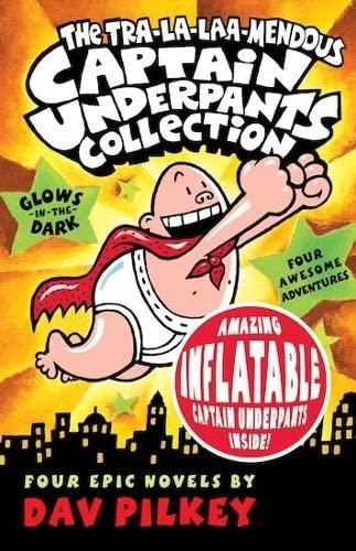 9781407107448: The Tra-la-laa-mendous Captain Underpants Collection