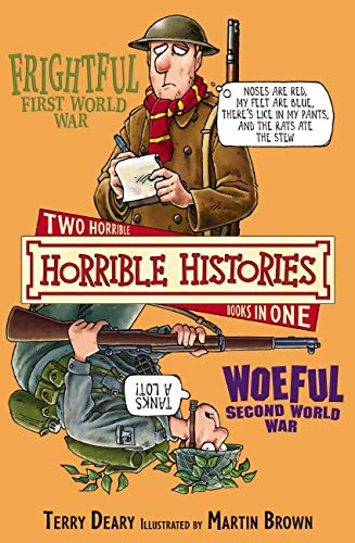 9781407109077: Frightful First World War and Woeful Second World War (Horrible Histories)
