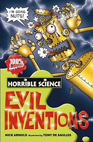 9781407109596: Evil Inventions (Horrible Science)