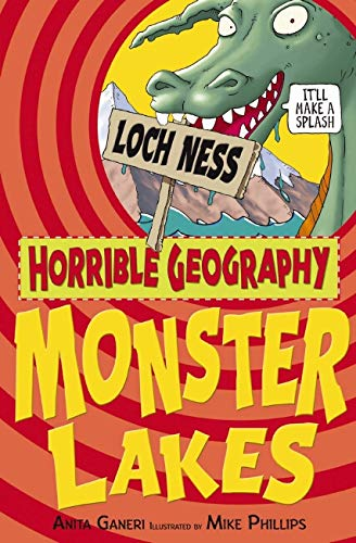 9781407109862: Monster Lakes (Horrible Geography)