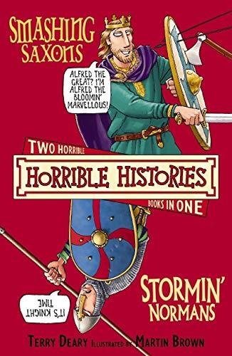 9781407109909: Smashing Saxons AND Stormin' Normans (Horrible Histories)