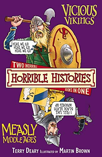 9781407109930: Vicious Vikings AND Measly Middle Ages (Horrible Histories)