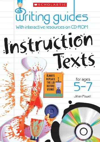 9781407112695: Instruction Texts for Ages 5-7 (Writing Guides)