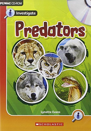 9781407113692: Investigate Predators CD Rom