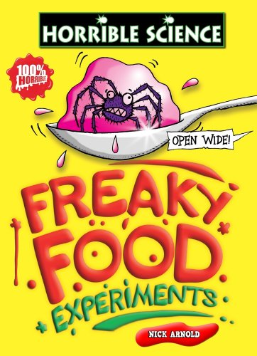 9781407114507: Freaky Food Experiments (Horrible Science)