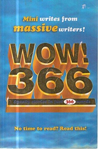 9781407116020: WOW! 366 speedy stories in just 366 words