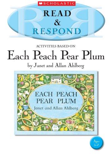 9781407127293: Each Peach Pear Plum (Read & Respond)