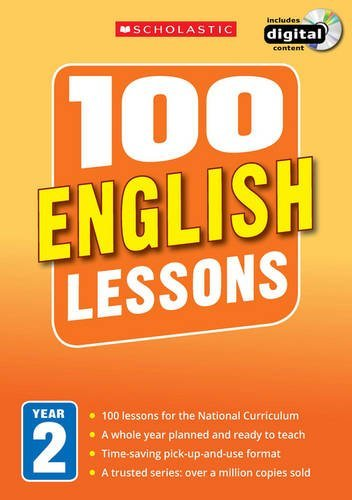 9781407127606: 100 English Lessons: Year 2 (100 Lessons - New Curriculum)