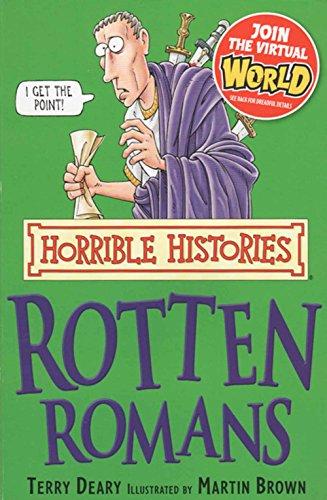 9781407132402: Rotten Romans Johnston