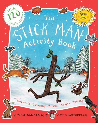 9781407132686: The Stick Man Activity Book