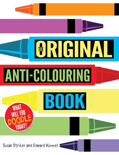 9781407133317: The Original Anti-Colouring Book
