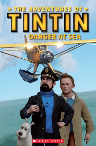 9781407133645: The Adventures of Tintin: Danger at Sea (Popcorn Readers)
