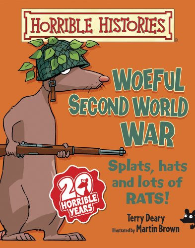 9781407135816: Woeful Second World War (Horrible Histories)