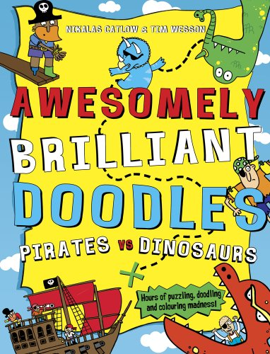 9781407137407: Pirates vs Dinosaurs (Awesomely Brilliant Doodles)