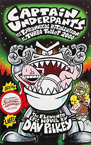 9781407138299: Captain Underpants and the Tyrannical Retaliation of the Turbo Toilet 2000