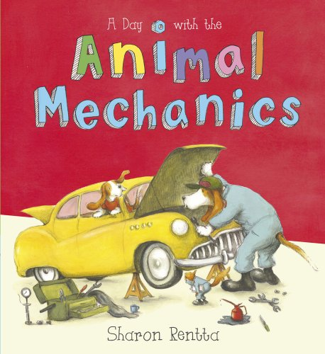 9781407139074: A Day with the Animal Mechanics