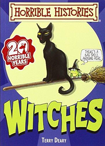 9781407140162: Witches (Horrible Histories Handbooks)