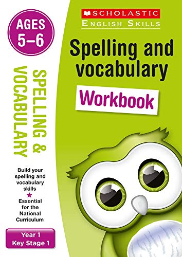 9781407141886: Spelling and Vocabulary Workbook (Year 1) (Scholastic English Skills)
