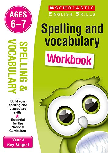 9781407142180: Spelling and Vocabulary Workbook (Year 2) (Scholastic English Skills)