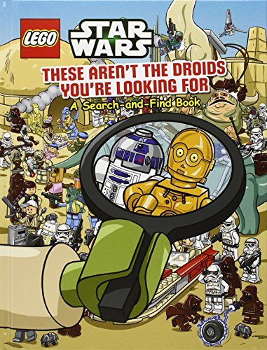 9781407142586: Lego Star Wars: These Aren't the Droids You're Looking For - A Search-and-Find Book