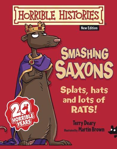9781407143163: Smashing Saxons (Horrible Histories)