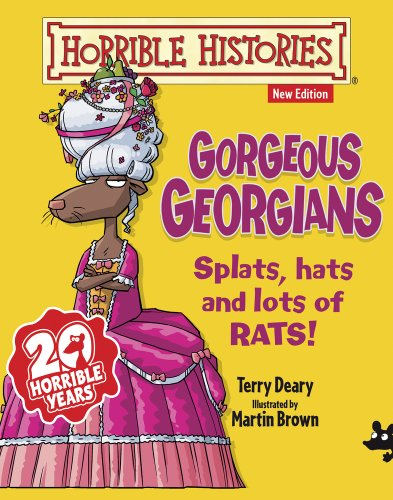 9781407143170: Gorgeous Georgians (Horrible Histories)