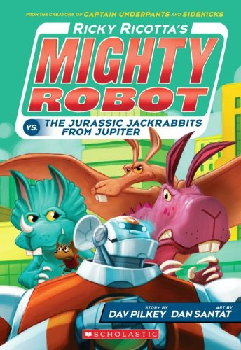9781407143378: Ricotta's Mighty Robot vs the Jurassic Jack Rabbits from Jupiter (Ricky Ricotta)