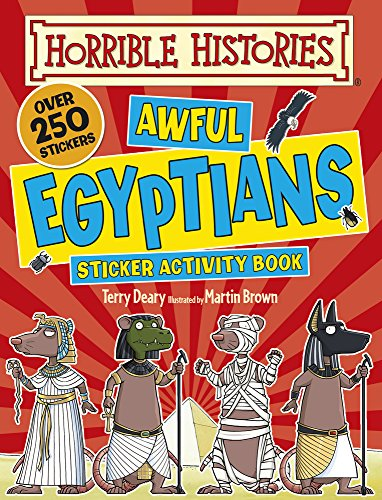 9781407143736: Awful Egyptians (Horrible Histories)