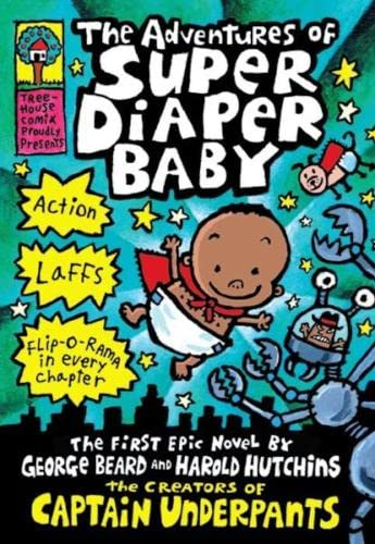 9781407147918: Adventures of Super Diaper Baby (Captain Underpants)