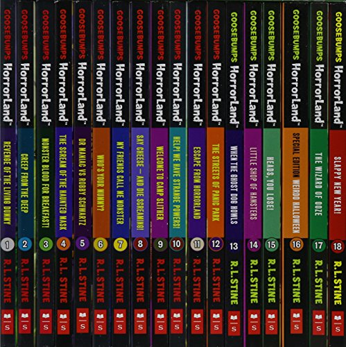 9781407149141: Goosebumps Horrorland Collection By R L Stine 18 Books Collection Set Pack