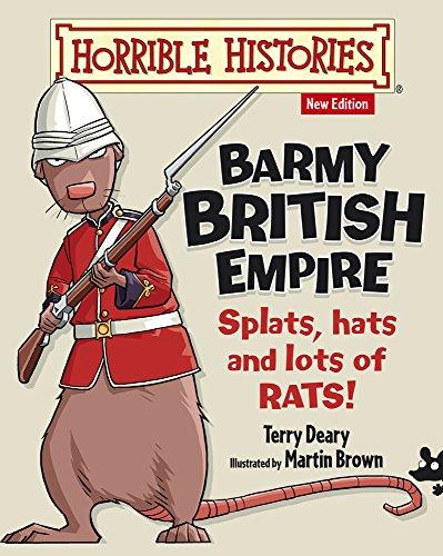 9781407152516: Barmy British Empire (Horrible Histories)
