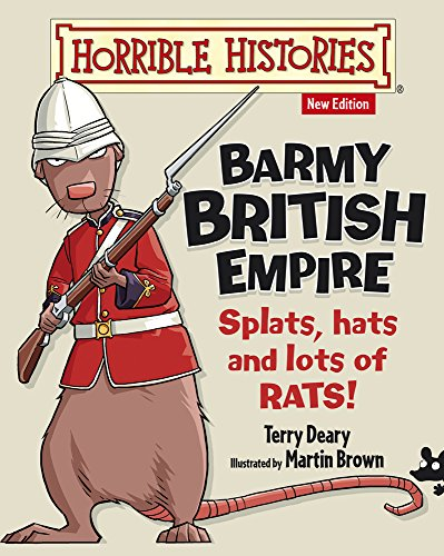 9781407152516: Barmy British Empire (Horrible Histories)