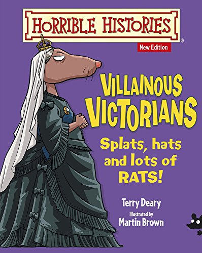 9781407152523: Villainous Victorians (Horrible Histories)