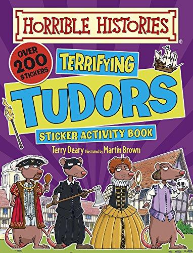 9781407152622: Terrifying Tudors (Horrible Histories)