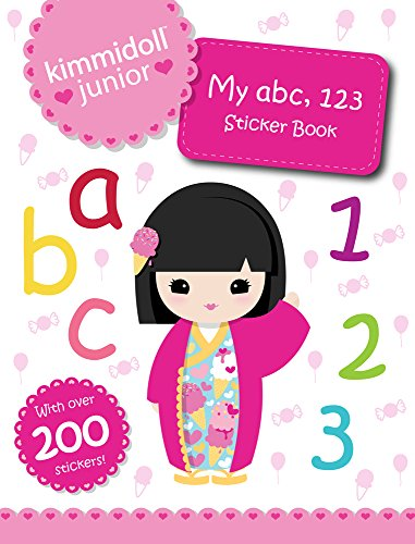 9781407152868: My ABC, 123 Sticker Book (Kimmidoll Junior)