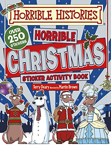 9781407158105: Horrible Christmas Sticker Activity Book (Horrible Histories Sticker Activity Book)