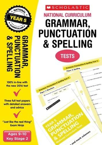 9781407159096: Grammar, Punctuation and Spelling Test - Year 5 (National Curriculum SATs Tests)
