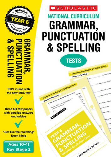 9781407159102: Grammar, Punctuation and Spelling Test - Year 6 (National Curriculum Tests)